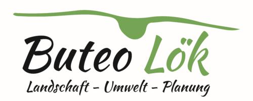 Logo der Buteo Landschaftsökologen mit Schriftzug